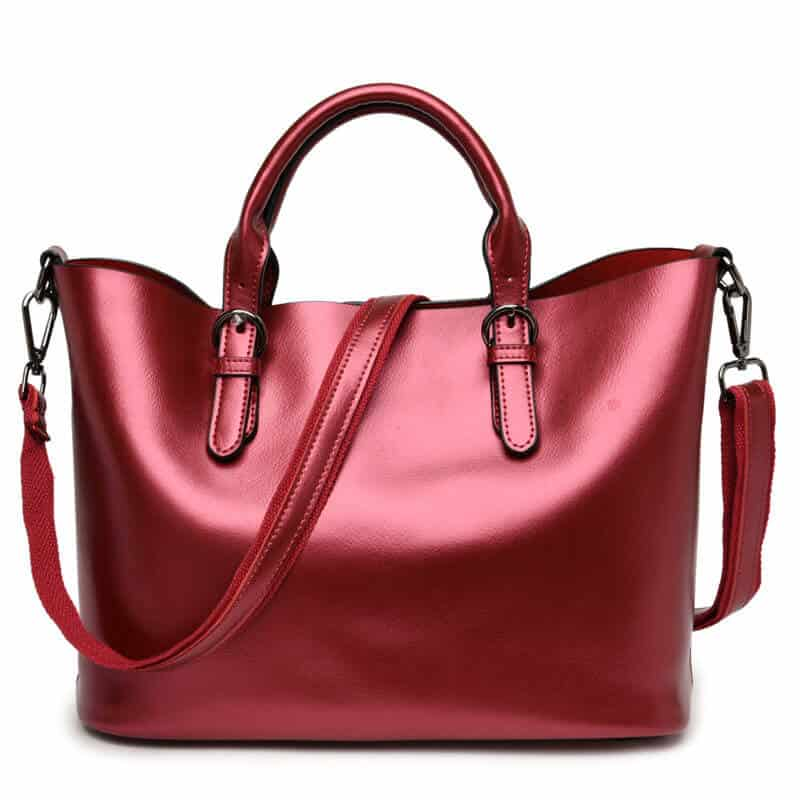 Women leather handbag, trendy new bag, shoulder bag. 3170-1