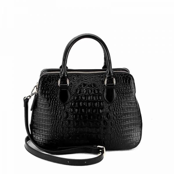 Leather handbag, crocodile pattern, Messenger bag, fashion.MP-1712079031-1