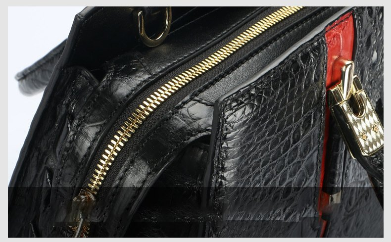 crocodile-skin-leather-handbag-high-end-for-elegant-women-lb-8114 details 007