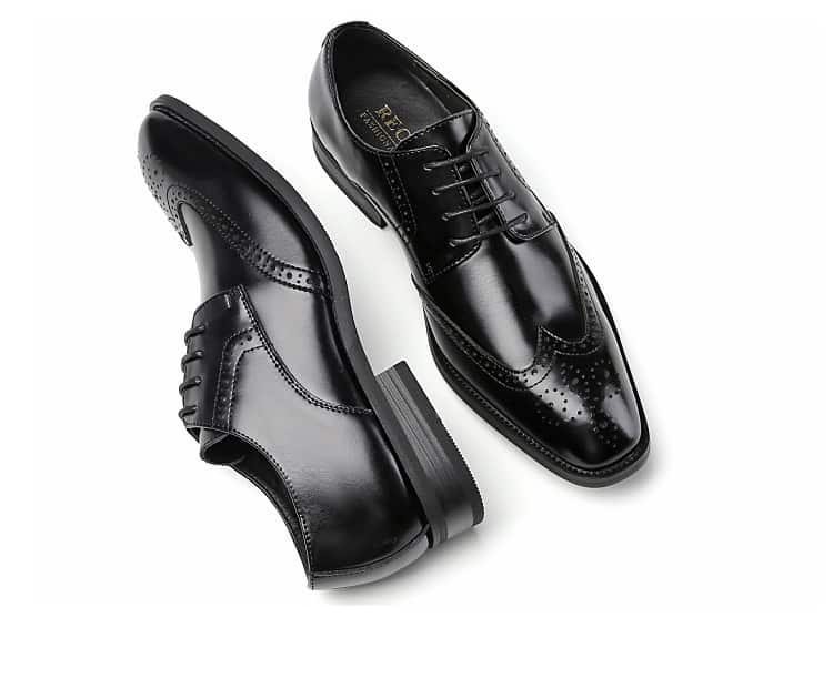 Men's leather shoes, business designed shoes, high quality leather. 3210-6-14