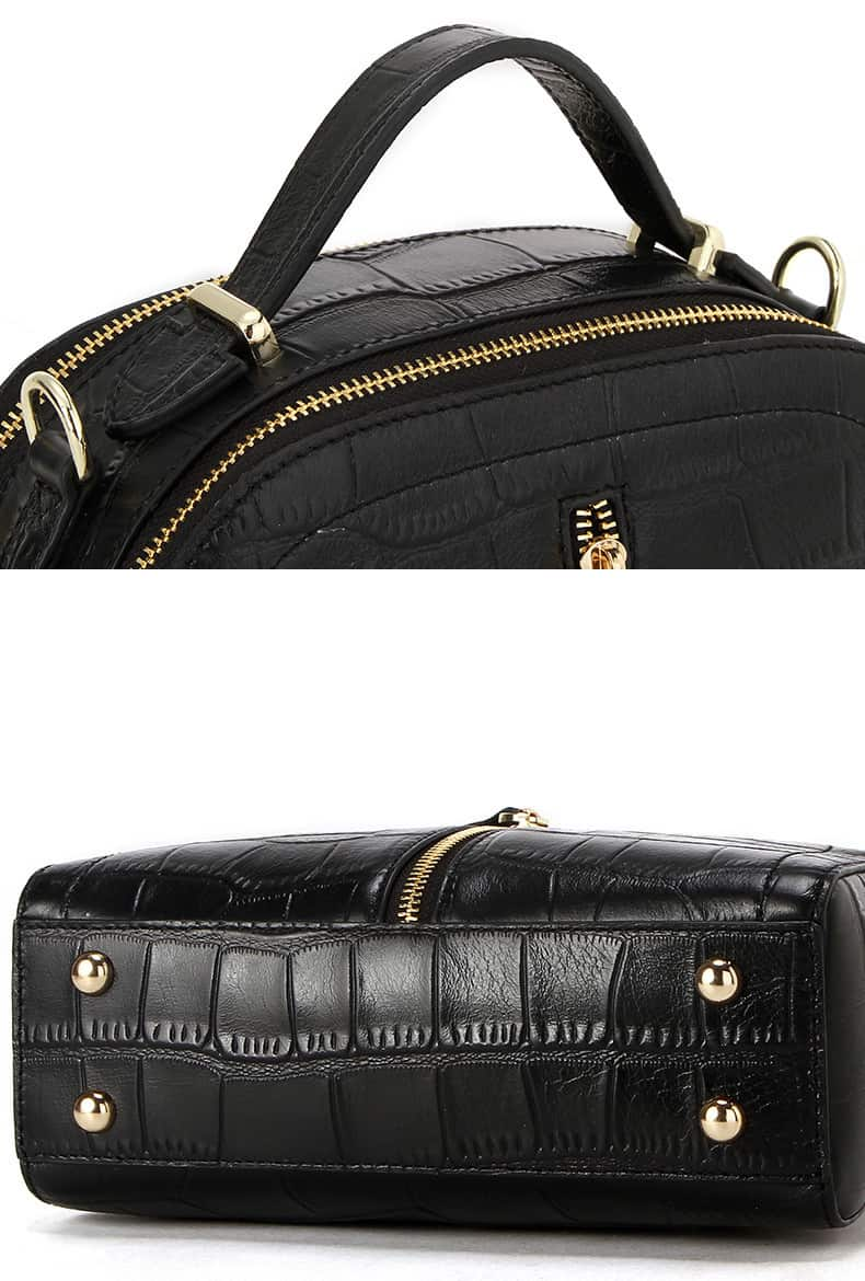Women's leather handbag, cowhide fashion high-end handbag.18051201-1-12