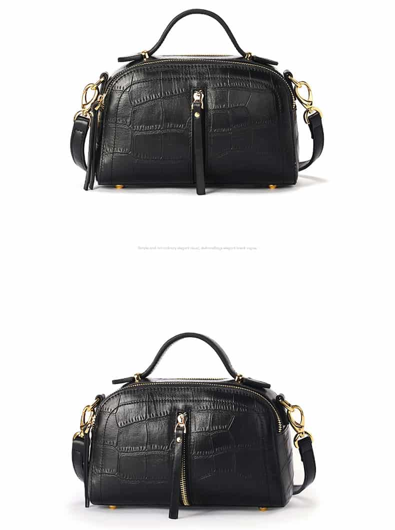 Women's leather handbag, cowhide fashion high-end handbag.18051201-1-5