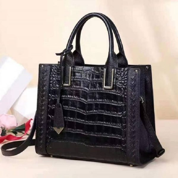 Women's leather handbag, fashion large capacity handbag.9008